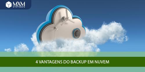 vantagens backup em nuvem