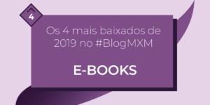 4 e-books mais baixados em 2019
