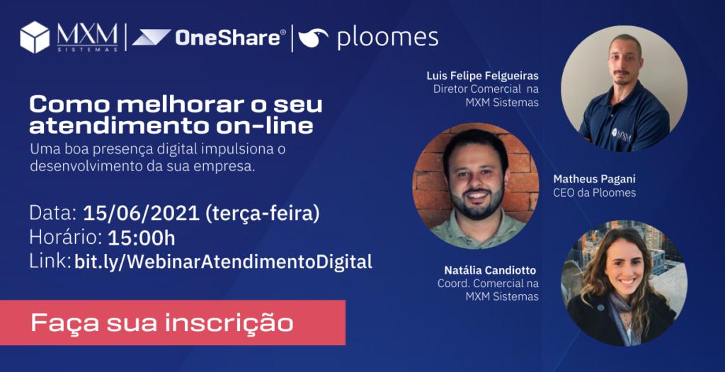 OneShare Divulgação Linkedin Webinar